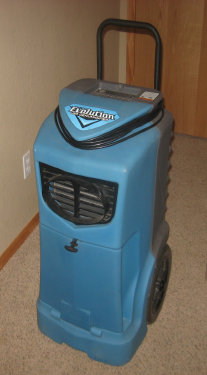 Image Of Dehumidifier For Flooded House