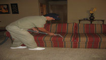 Image Of Professional Upholstery Cleaning
