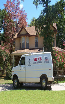 Image Of Truck Mounted Carpet Cleaning Van