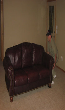 Image Of Carpet Cleaner Moving Furniture